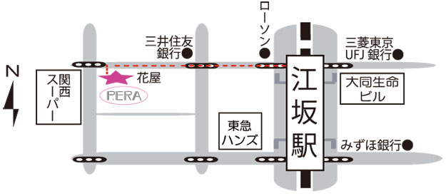 ピエラ詳細地図